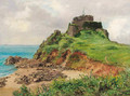 The tower on the coast - Henry John Yeend King