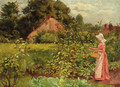 Picking Berries - Henry John Yeend King