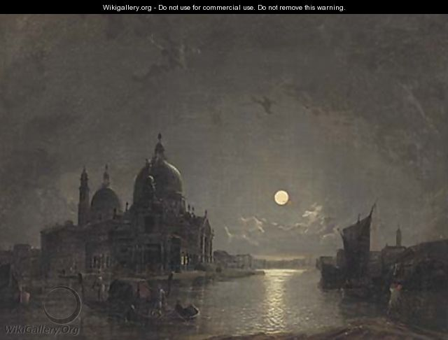 Santa Maria della Salute from the Grand Canal - Henry Pether