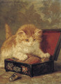 The sewing box - Henriette Ronner-Knip