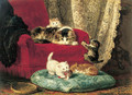 The little badminton players - Henriette Ronner-Knip