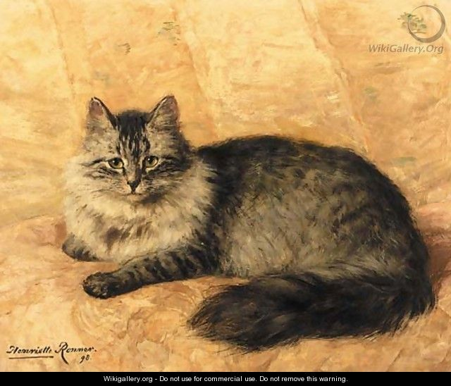 Peter the Cat - Henriette Ronner-Knip