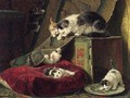 Hide and seek - Henriette Ronner-Knip