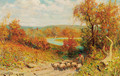 Autumn, near Arundel, Sussex - Henry Childe Pocock