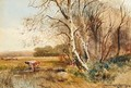 Cattle watering - Henry Charles Fox