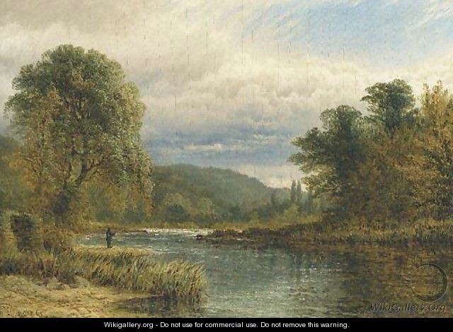 On the Trent, near Castle Donnington - Henry Thomas Dawson
