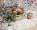 Nature morte aux paches - Henri Lebasque