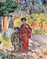 Marthe et Nono en Japonaises (Marthe and Nono dressed in Japanese Clothes) - Henri Lebasque