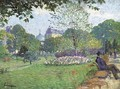 Le Parc de Saint-Cloud - Henri Lebasque