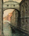 Venise, Le Pont des Soupirs (The Bridge of Sighs) - Henri Eugene Augustin Le Sidaner