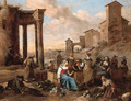 Markets in Italianate towns - Hendrik Mommers
