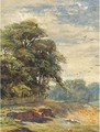 Hampstead Heath - Helen Mary Elizabeth Allingham, R.W.S.
