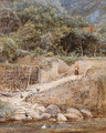 At Lynmouth, North Devon - Helen Mary Elizabeth Allingham, R.W.S.