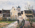 Entrance of the Village of Osny near Pontoise - Gustave Loiseau