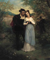 Faust and Marguerite - Pierre Gustave Eugene (Gustave) Staal