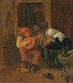 Peasants making Music in an Interior - Harmen Fransz. Hals