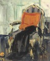The gilt chair - Francis Campbell Boileau Cadell