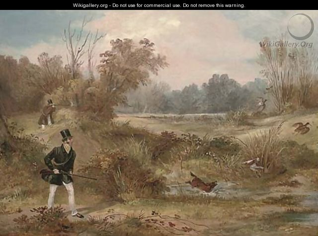 The woodcock shoot - Francis Calcraft Turner