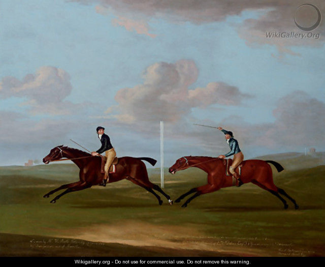 The Race for Kings Plate at Newmarket - Francis Sartorius