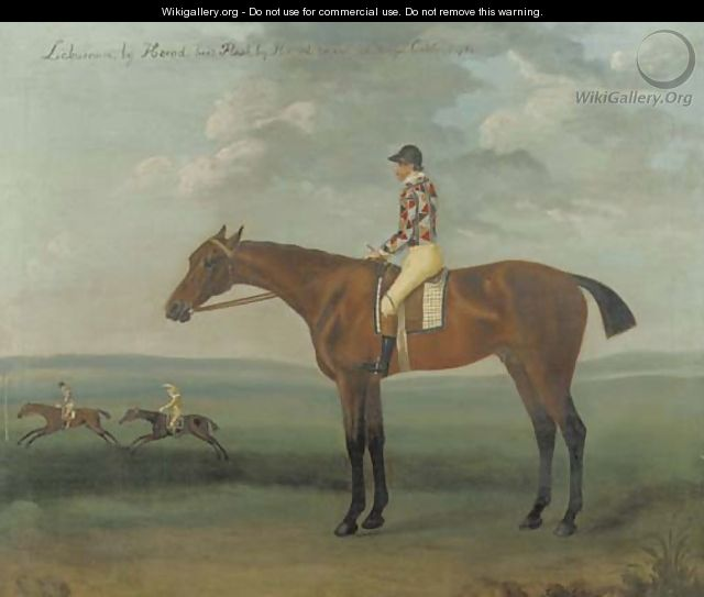 Laburnum, with jockey up - Francis Sartorius