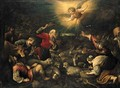 The Annunciation to the Shepherds - Jacopo Bassano (Jacopo da Ponte)