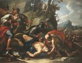 The Death of King Josiah - Francesco Conti