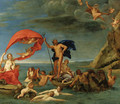 The Maritime Realm Neptune and Amphitrite - Francesco Albani