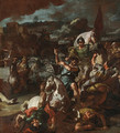 The Battle of Issus - Francesco Solimena