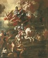 The Triumph of King Charles of Naples at the Siege of Gaeta - Francesco Solimena