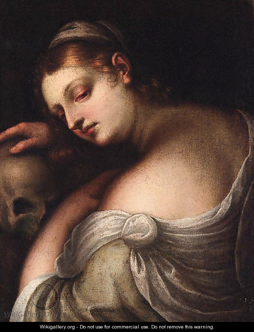 The Penitent Magdalen - (after) Tiziano Vecellio (Titian)