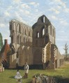 Much Wenlock Priory, Shropshire - (after) William Holman Hunt
