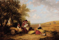 The Gleaners - (after) William Frederick Witherington
