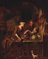 Preparing A Feast - (after) Of Willem Van Mieris