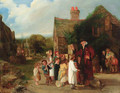 The village peep show - (after) William Mulready