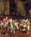 The court musicians - François Brunery