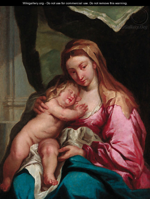 The Madonna and Child - (after) Dyck, Sir Anthony van