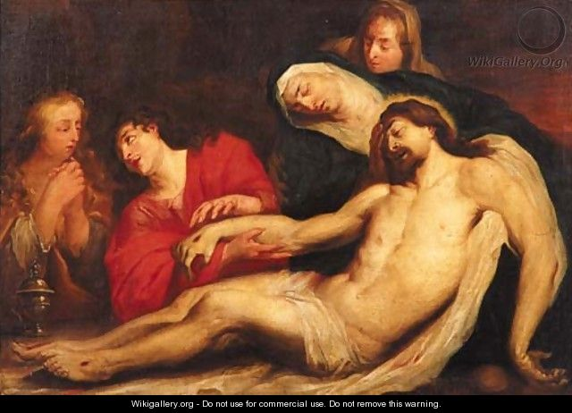 The Lamentation 3 - (after) Dyck, Sir Anthony van