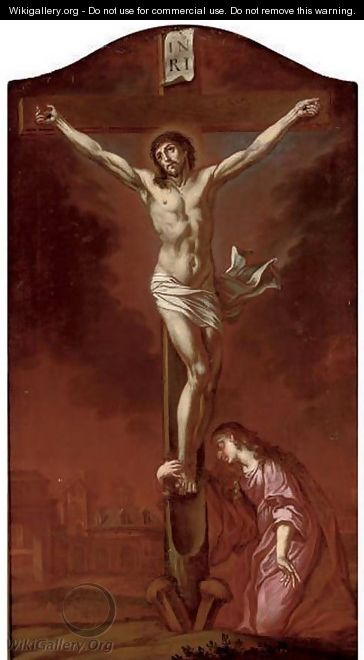 The Crucifixion 2 - (after) Dyck, Sir Anthony van
