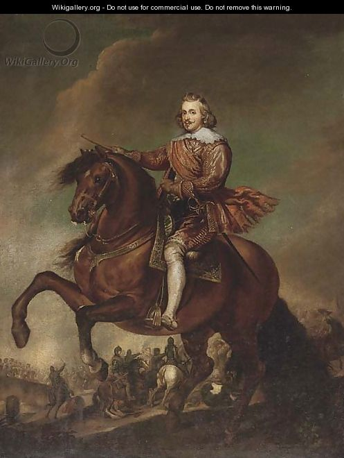 Portrait of Philip IV, on horseback - (after) Sir Peter Paul Rubens
