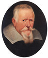 Portrait of an elderly gentleman, bust-length, in a black coat and a lawn collar - (after) Sir Peter Paul Rubens