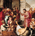 Christ at the Pool of Bethesda - (after) Sir Peter Paul Rubens