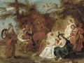 The visit of Minerva to Mount Helicon - (after) Sir Peter Paul Rubens