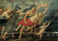 The rape of Deianera - (after) Sir Peter Paul Rubens