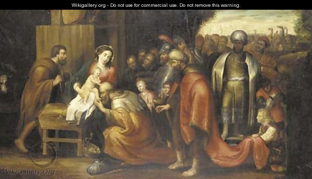 The Adoration of the Magi 5 - (after) Sir Peter Paul Rubens