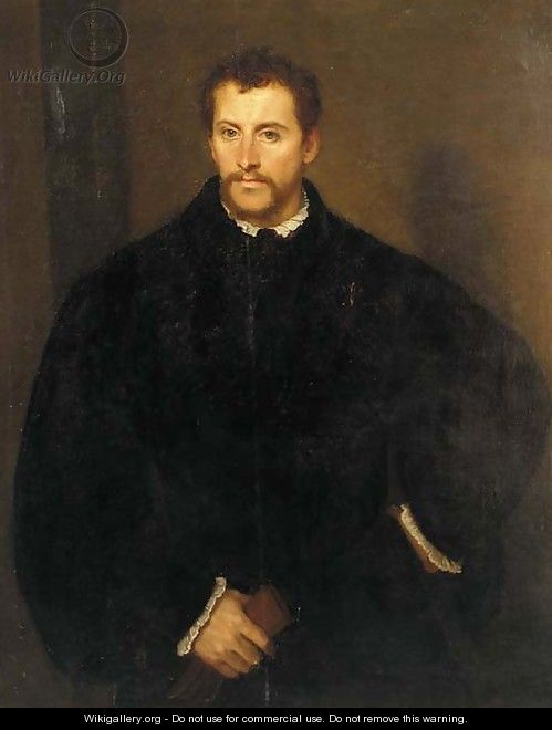 Portrait of a gentleman - (after) Tiziano Vecellio (Titian)