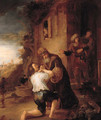 The Return of the Prodigal Son - (after) Rembrandt Van Rijn