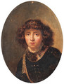 Portrait of a youth - (after) Rembrandt Van Rijn