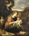 The Holy Family 2 - (after) Raphael (Raffaello Sanzio of Urbino)