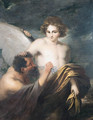Daedalus attaching wings to Icarus - (after) Dyck, Sir Anthony van