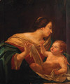 The Madonna and Child 2 - (after) Simon Vouet